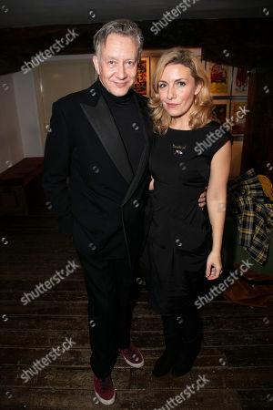 Jasper Britton and Natalie Walter