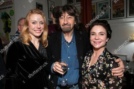 Kelly Price, Sir Trevor Nunn (Director) and Kaisa Hammarlund