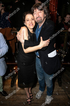 Judy Kuhn (Golde) and Sir Trevor Nunn (Director)