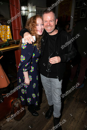 Stock Picture of Victoria Yeates and Matthew White