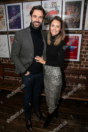 Michael Xavier and Carly Turnbull