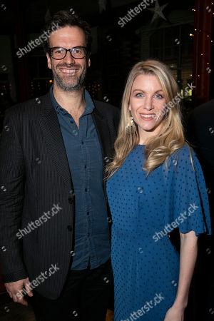 Marcus Brigstocke and Rachel Parris