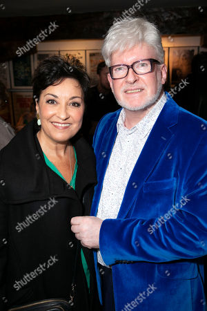 Stock Image of Ria Jones and Richard Mawbey (Hair and Make-up Designer)