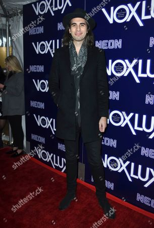 """Nick Simmons arrives at the Los Angeles premiere of """"Vox Lux"""", at ArcLight Hollywood"""