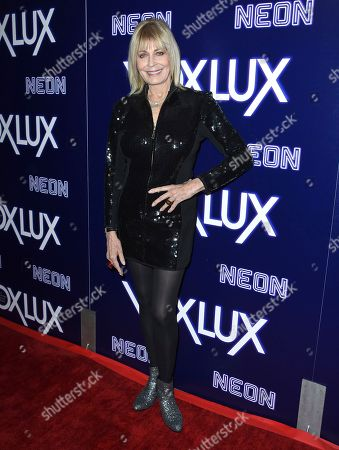 "Joanna Cassidy arrives at the Los Angeles premiere of ""Vox Lux"", at ArcLight Hollywood"