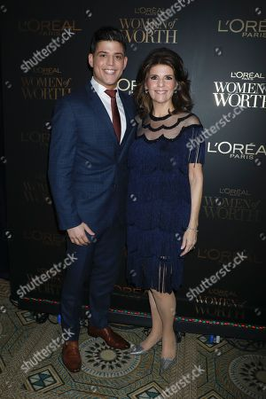 Editorial image of L'Oreal Paris Women of Worth celebration, New York, USA - 05 Dec 2018