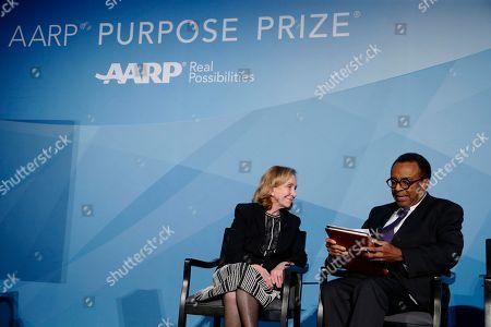 Editorial image of AARP's Purpose Prize Gala, Washington, USA - 05 Dec 2018