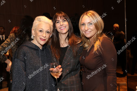Marsha Vlasic, Michelle Jubelirer, and Debra White attend the 2018 AMEX Billboard Luncheon at the Four Seasons Restaurant