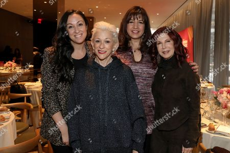 Marissa Morris, Marsha Vlasic, Sharron Dastur and Andrea Ganis attend the 2018 AMEX Billboard Luncheon at the Four Seasons Restaurant