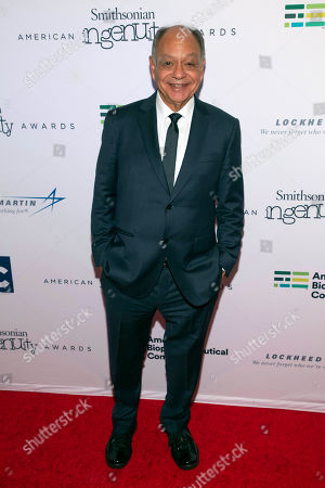 Stock Photo of Award presenter for History Cheech Marin attends the Smithsonian Magazine 2018 American Ingenuity Awards held at The National Portrait Gallery, in Washington