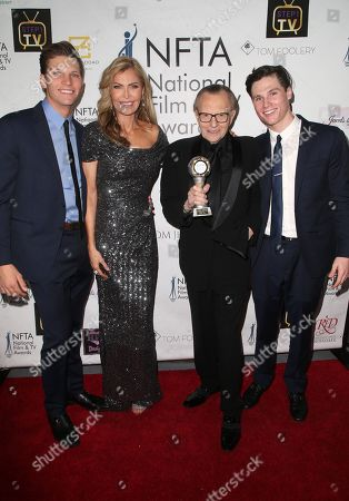 Shawn King, Larry King, Andy King, Larry King Jr.