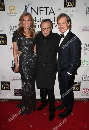 Shawn King, Larry King, William. H. Macy