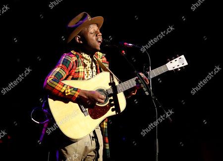 J.S. Ondara performs at The Wilbur Theatre, in Boston