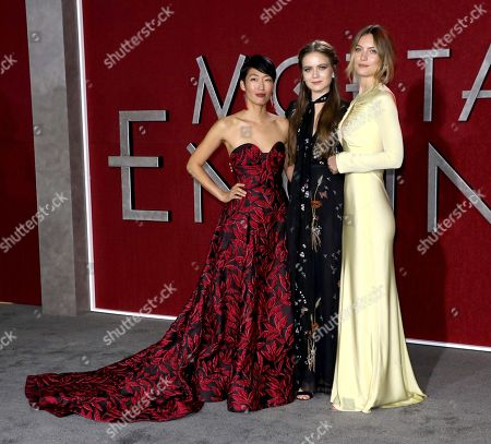 Jihae, Hera Hilmar and Leila George D'Onofrio