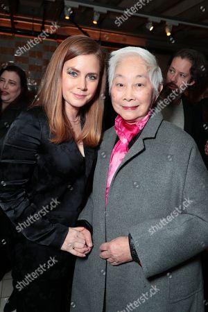 Amy Adams and Lisa Lu