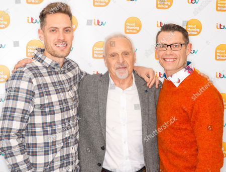 Phil Beastall, Peter Dean and John Partridge