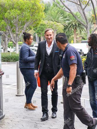 Editorial image of 'Extra' TV show, Universal CityWalk, Los Angeles, USA - 05 Dec 2018