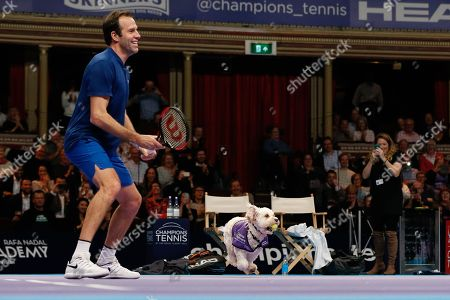 Editorial picture of Champions Tennis, London - 06 Dec 2018