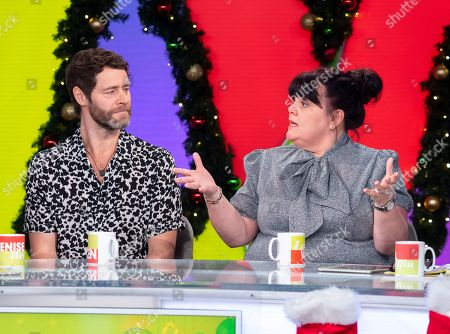 Editorial picture of 'Loose Women' TV show, London, UK - 06 Dec 2018