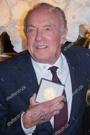 Editorial image of Vermeil medal of the city of Paris presentation, France - 06 Dec 2018