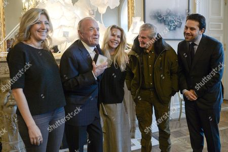 Editorial picture of Vermeil medal of the city of Paris presentation, France - 06 Dec 2018