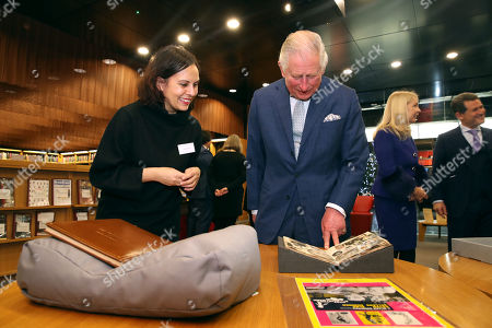 Editorial image of The Prince Of Wales visit to The BFI Southbank, London, UK - 06 Dec 2018