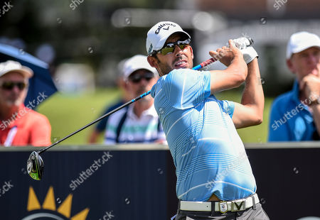 Pablo Larrazabal of Spain in action during the South African Open Championship played at the Randpark Golf Club, Johannesburg, South Africa, 06 December 2018.