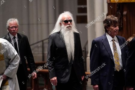 Members of the US country music group Oak Ridge Boys William Lee Golden (C) and Richard Sterban (R) attend a funeral service for former US President George H.W. Bush at St. Martin's Episcopal Church in Houston, Texas, USA, 06 December 2018. Bush died at the age of 94 on 30 November 2018 at his home in Texas. George H.W. Bush was the 41st President of the United States (1989-1993).