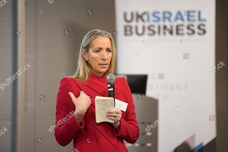Editorial image of UK Israel Business Briefing with Baroness Fairhead CBE, Spitalfields, London, UK - 06 Dec 2018