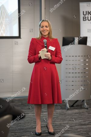 Stock Image of Baroness Rona Fairhead CBE, Minister of State for Trade and Export Promotion at Allen and Overy