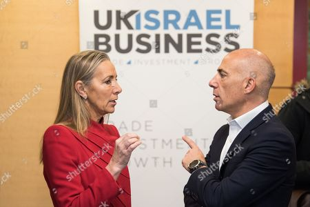 Baroness Rona Fairhead CBE with Leon Blitz, Chairman of UK Israel Business at Allen and Overy