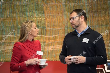 Baroness Rona Fairhead CBE with Asaf Anolik of Amazon Europe at Allen and Overy