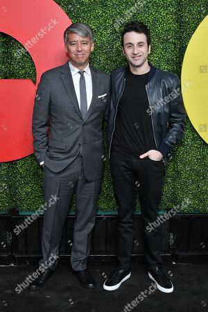 Stock Image of Tom Cross and Justin Hurwitz