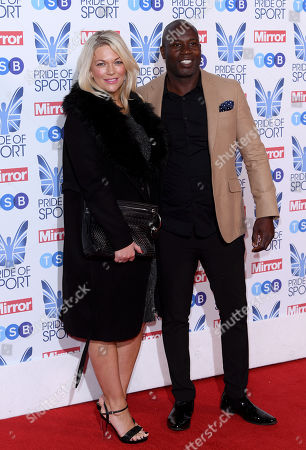 Virginia Shaw and Martin Offiah
