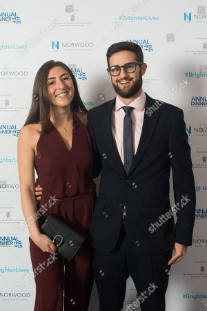 Stock Picture of Audrey and Michael Epstein.