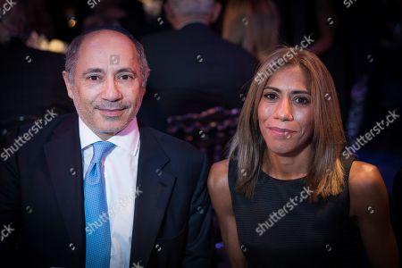 Alan Howard and Sabine Howard