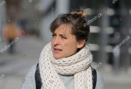 Alison Mack. Television actress Allison Mack leaves federal court in New York, . Court papers say a trust funded by Seagram's liquor fortune heiress Clare Bronfman is bankrolling the defense for her co-defendants in the sex-trafficking prosecution. They include the leader of the secretive upstate New York group NXIVM, Keith Raniere, and Mack. All the defendants have pleaded not guilty to charges alleging that followers of the group were coerced into becoming sex slaves who were branded with Raniere's initials