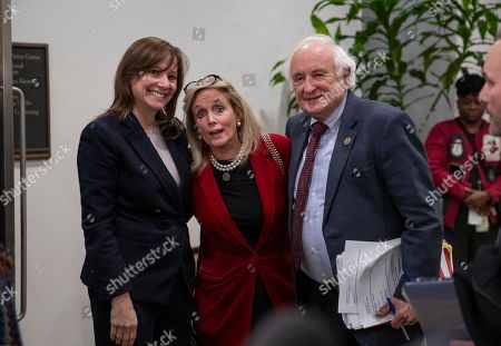 Mary Barra, Sander Levin, Debbie Dingell. General Motors CEO Mary Barra, left, is joined by Rep. Debbie Dingell, D-Mich., center, and Rep. Sander Levin, D-Mich., after meeting with the Michigan congressional delegation to discuss plans for the massive restructuring by the Detroit-based automaker, on Capitol Hill in Washington