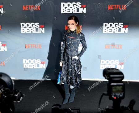 Katharina Schuettler poses at the world premiere of 'Dogs of Berlin' in Berlin, Germany, 06 December 2018. The first season of the television series is released on Netflix from 13 October on.