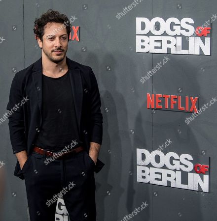Fahri Yardim poses at the world premiere of 'Dogs of Berlin' in Berlin, Germany, 06 December 2018. The first season of the television series is released on Netflix from 13 October on.