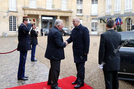 Editorial image of Rami Hamdallah meets with French Senate President Gerard Larcher, Paris, France - 06 Dec 2018