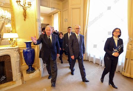 Editorial photo of Rami Hamdallah meets with French Senate President Gerard Larcher, Paris, France - 06 Dec 2018