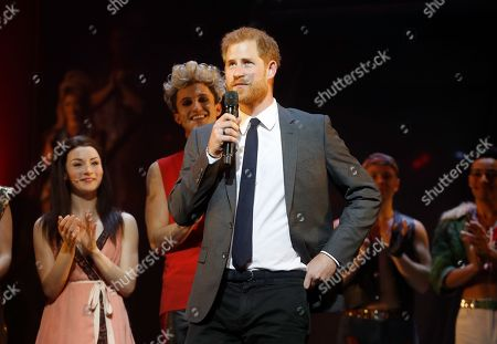 Prince Harry attends gala performance of 'Bat Out Of Hell: The Musical', London
