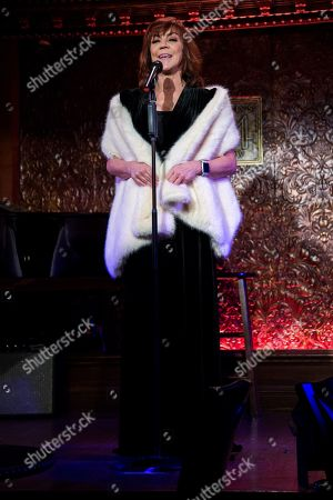 Editorial photo of Feinstein's 54 Below Holiday Show, New York, USA - 05 Dec 2018