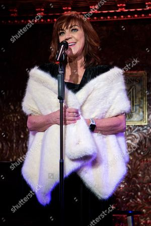 Editorial image of Feinstein's 54 Below Holiday Show, New York, USA - 05 Dec 2018