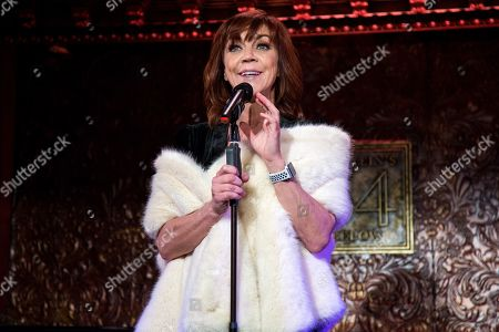 Editorial picture of Feinstein's 54 Below Holiday Show, New York, USA - 05 Dec 2018