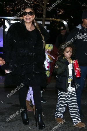 Editorial photo of Mariah Carey out and about, Paris, France - 06 Dec 2018