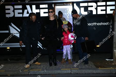 Mariah Carey and children Moroccan Cannon and Monroe Cannon