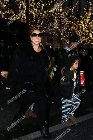 Editorial image of Mariah Carey out and about, Paris, France - 06 Dec 2018