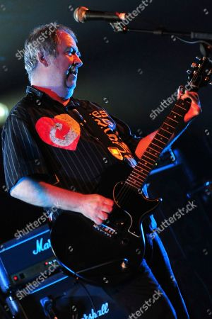 Stock Picture of The Buzzcocks - Pete Shelley